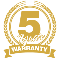 SKG 5 Year Warranty